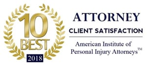 "Attorney Jeff Hunter nominated ""10 Best Attorneys 2018"" for Client Satisfaction"