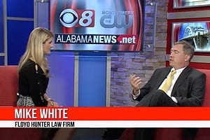 Attorney Mike White Discussing Distracted Driving On The Local News