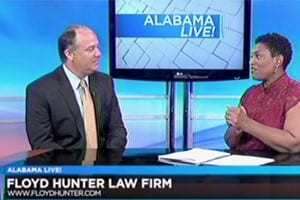 Attorney Jeff Hunter Appearing On WSFA Alabama Live