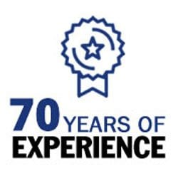 70 Years of Experience