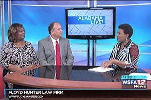 Attorney Jeff Hunter With Mothers Against Drunk Driving Stock Photo