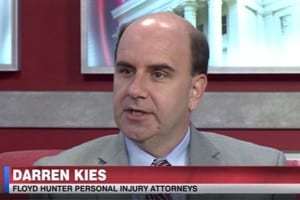 Attorney Darren Kies discusses halloween safety tips on the news