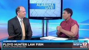 Jeff Hunter on WSFA Alabama Live