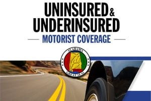 Uninsured and Underinsured Motorist Guide Front Cover