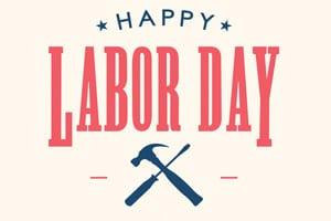 Happy Labor Day Banner Image - Floyd Hunter Injury Law