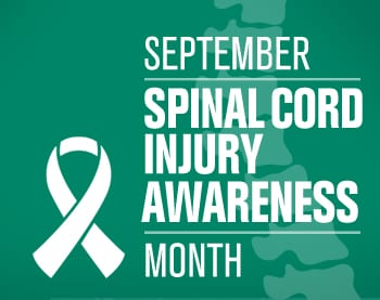 September Spinal Cord Injury Awareness Month Banner Image